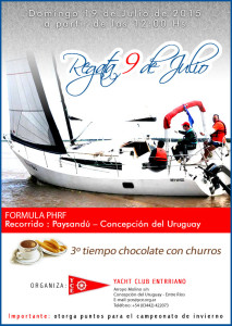 9 de julio Chocolate con Churros