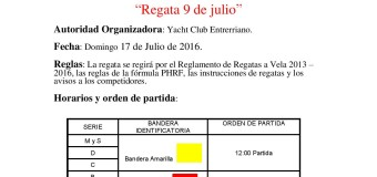 Regata 9 de Julio