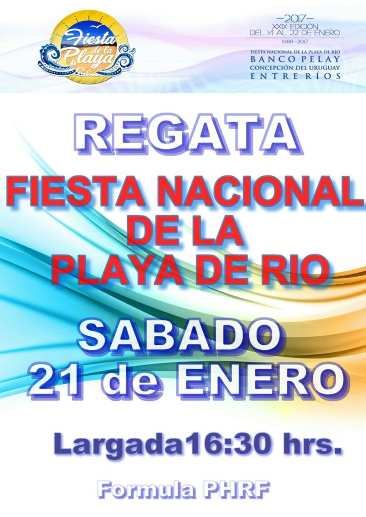Flyer Fiesta de la playa2017