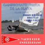 CAMPEONATO FIESTA DE LA PLAYA FLYER